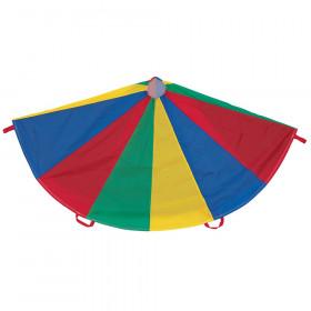 Multi-Colored Parachute, 6' Diameter, 8 Handles