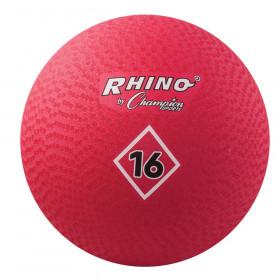 """Playground Ball, 16"""", Red"""