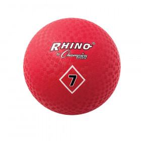 """Playground Ball, 7"""", Red"""