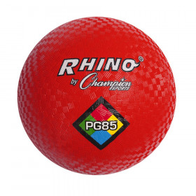 "Playground Ball, 8-1/2"", Red"