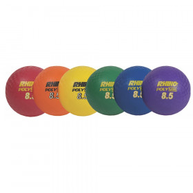 Playground Ball Set Of 6 8 1/2In