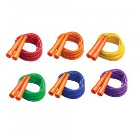 Licorice Speed Jump Rope, 16' with Orange Handles