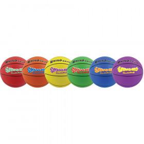 Rhino Skin Super Squeeze Basketball, Set of 6