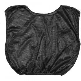 Vest Adult Practice Scrimmage Black 12 Count