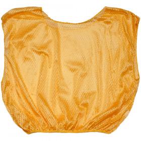 Vest Adult Practice Scrimmage Gold 12 Count