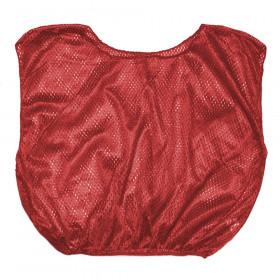Vest Adult Practice Scrimmage Red 12 Count