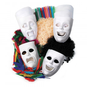 Activity Box, Masks, Assorted Sizes, 1 Kit