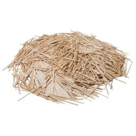 "Natural Toothpicks, Flat, 2.25"", 2500 Count"