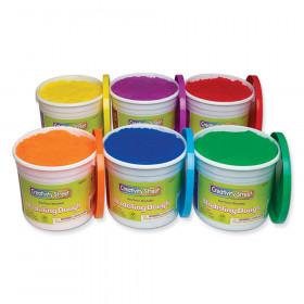Modeling Dough, 6 Assorted Colors, 3.3 lb. Per Color, 6 Pieces