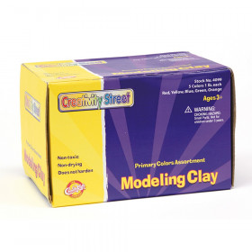 Modeling Clay, 5 Primary Color Assortment, 5 sticks, 5 lbs. Total