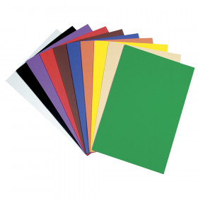 "WonderFoam Sheets, 10 Assorted Colors, 12"" x 18"", 10 Sheets"