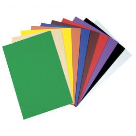 "WonderFoam Sheets, 10 Assorted Colors, 9"" x 12"", 10 Sheets"