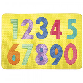 """Magnetic Numbers Puzzle, Numerals 0 - 9, 12"""" x 8.5"""", 10 Pieces"""
