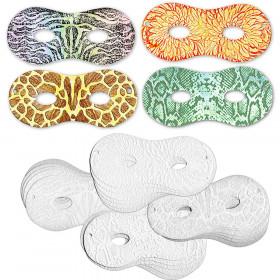 Embossed Paper Masks Pack Of 24