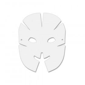 """Die-Cut Dimensional Paper Masks, 10-1/2"""" x 8-1/4"""", 40 Pieces"""