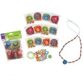 100 Days of School Bead Kits, Assorted Sizes, 12 Kits