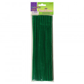"Regular Stems, Dark Green, 12"" x 4 mm, 100 Pieces"