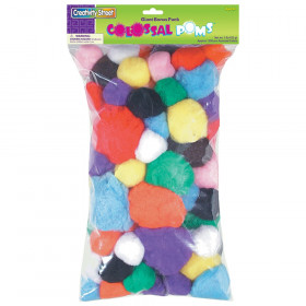 Colossal Poms, Assorted Sizes, 1 lb.