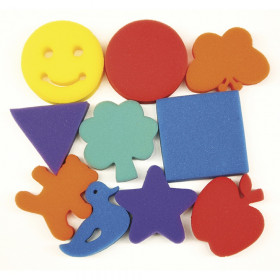 "Paint Sponges, Familiar Shapes Set, 3"", 10 Pieces"