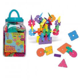 Mini Design Shapes, Assorted Colors & Sizes, 104 Pieces