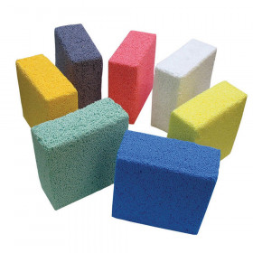 Squishy Foam, 7 Assorted Colors, 4 oz. Per Piece, 7 Pieces