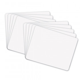 """Whiteboard, 1-Sided, Plain, 9"""" x 12"""", 10 Boards"""