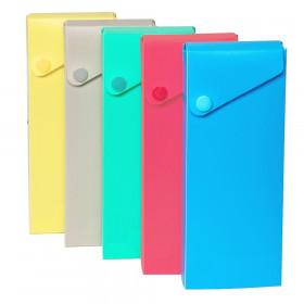 Slider Pencil Case, Assorted Tropic Tones Colors, 1 Each