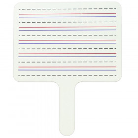 Two-Sided Dry Erase Answer Paddles, Set of 12