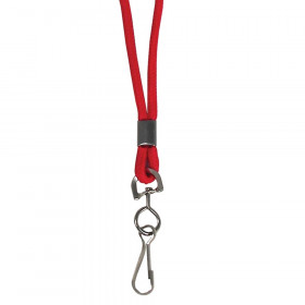 C Line Red Std Lanyard With Swivel Hook