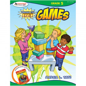 Engage The Brain Games Gr 5