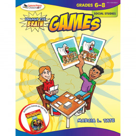 Engage the Brain: Games, Social Studies, Grades 6-8