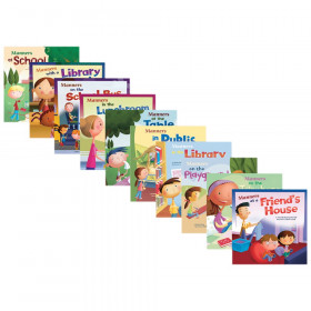 Way to Be!: Manners Book Set, Set of 10