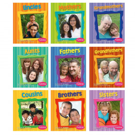 Capstone Publishing Families Book Set, Set of 9
