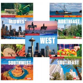 5 Book Set United States By Region