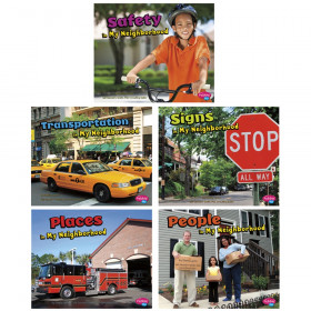 My Neighborhood Book Set, Set of 5