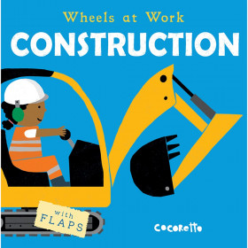 Wheels at Work Board Book, Construction