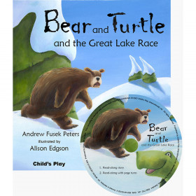 Bear And Turtle And The Great Lake Race Traditional Tale With A Twist