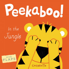 Peekaboo! Board Book, In the Jungle!
