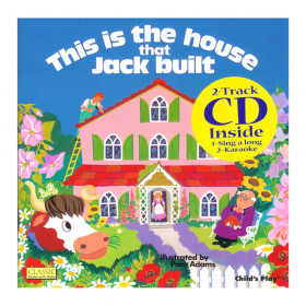 House That Jack Built 8X8 w/CD