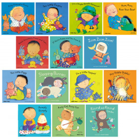 Songs and Rhymes Collection Set, Set of 14 Baby Board Books