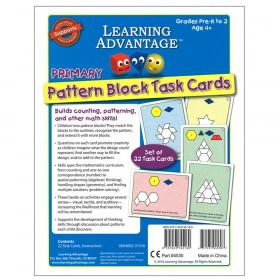 Primary Pattern Blocks Task Cards, Set A