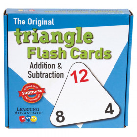 Triangle Flash Cards, Addition & Subtraction