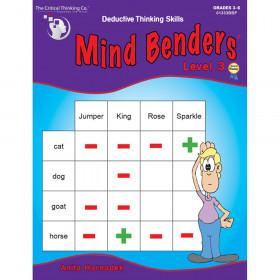 Mind Benders Level 3, Grades 3-6