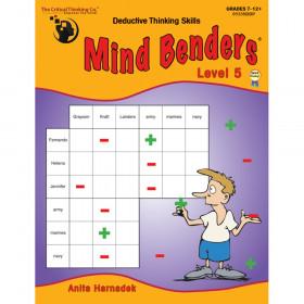 Mind Benders Book 5, Grades 7-12+