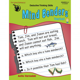 Mind Benders Verbal, Grades K-2