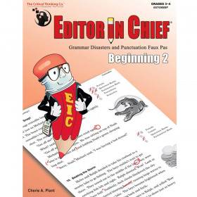 Editor in Chief Beginning 2