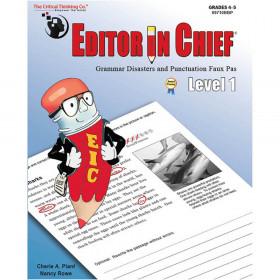 Editor in Chief Level 1