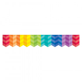 Rainbow Herringbone Borders (Paint)