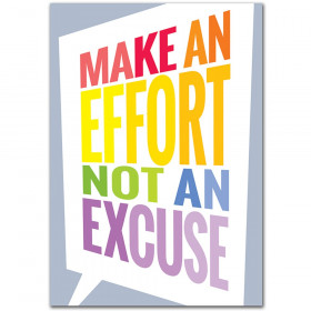 Make An Effort... Inspire U Poster (Paint)