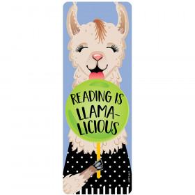 Reading Is Llamalicious Bookmark